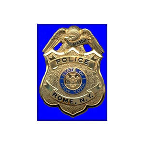 rome police department badge