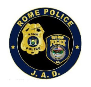 rome police department juvenile aid division badge