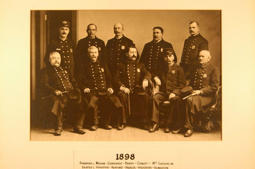 1898 rome police department team photo