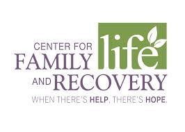 center for family life and recovery logo